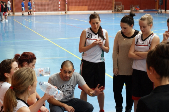 Asier Hormaechea, entrenador de Askartza Saskibaloia